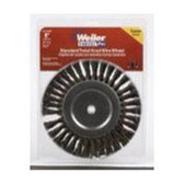 "Weiler Brush 36028 8"" Knot W/W Twist Crs 5/8"""