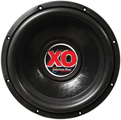 "American Bass XO1244 Subwoofer 12"" 60 Oz.Magnet Dual 4 Ohm"