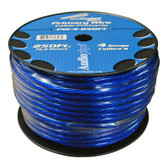 Audiopipe PW4BL Power Wire 4Ga 250' Blue