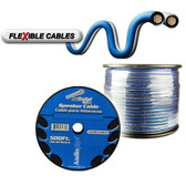 Audiopipe CABLE12BLS500 12 Gauge Flexible Speaker Cable 500Ft