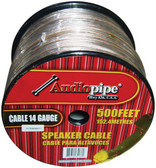 Audiopipe CABLE14500 *Cbp14500* Sp Wire 14Ga 500' Clear