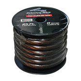 Audiopipe PW025BK Power Wire 0Ga. 25' Black