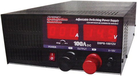 Audiopipe DSPS10012V Power Supply Nippon America 100 Amp; Regulated