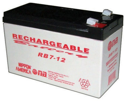 Audiopipe RB712 12V Rechargeable Battery 7Ah Nippon America