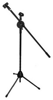Audiopipe MS5 Boom Microphone Stand For 2 Mics - See Notes