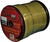 Audiopipe AP18500YW Remote Wire Audipipe 18Ga 500' Yellow