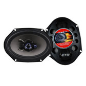 "Audiopipe XGT6803 Speaker 6X8"" 3-Way XXX 350 Watts (No Grills)"