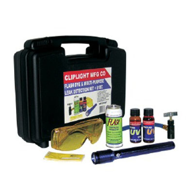 Cliplight 98181KIT All In One Multi-Purpose Flash Kit for Car Leak Detection