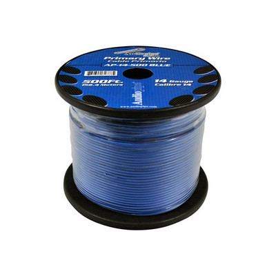 Audiopipe AP14500BL 14 Gauge 500Ft Primary Wire Blue