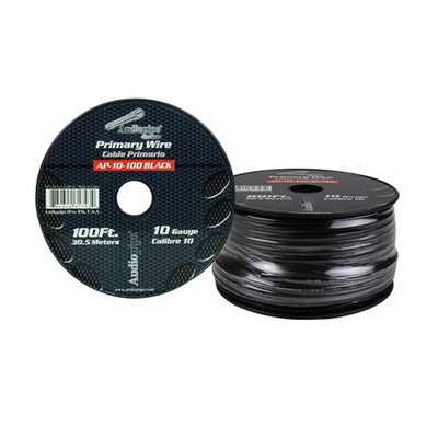 Audiopipe AP10100BK 10 Gauge 100Ft Primary Wire Black