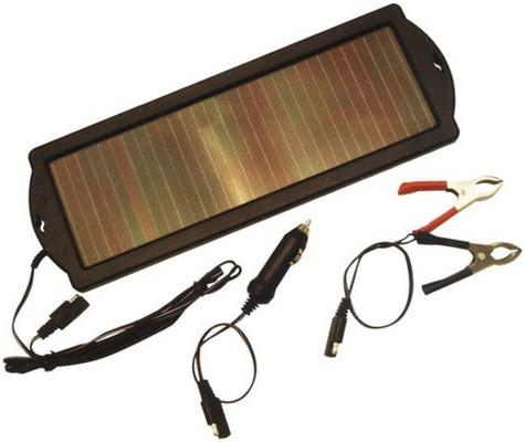 Audiopipe TPS946 Solar Powered 12Volt Trickle Charger