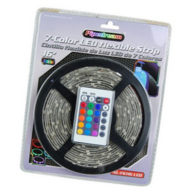 Audiopipe NLKT116LEDM Nippon 16Ft LED Flexible Strip 7 Colors With Splicers