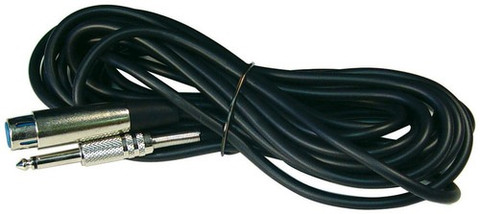 "Audiopipe MC10 Mic Cord 20' 1/4"" To 3 Pin XLRnippon"
