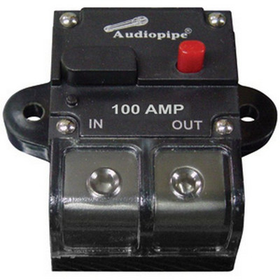 Audiopipe CB100AP 100 Amp Manually Resettable Circuit Breaker
