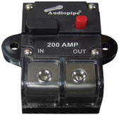 Audiopipe CB200AP 200 Amp Manually Resettable Circuit Breaker