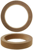"Audiopipe RING4R Nippon 4"" Speaker Rings Made Of 3/4"" MDF (Pair)"