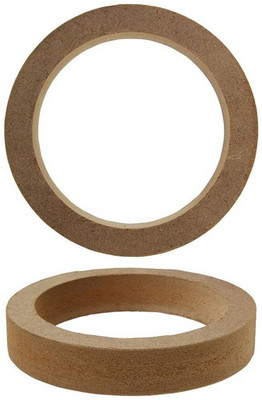 "Audiopipe RING35R Nippon 3.5"" MDF Speaker Rings (Pair)"