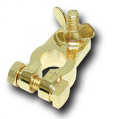 Audiopipe BT100P Battery Terminal Positive; Gold Plated