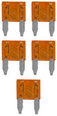 Audiopipe AST75A Mini Blade Fuse 5 Pack