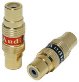 Audiopipe Q119 RCA Coupler Female Pair