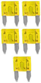 Audiopipe AST20A Ast Fuse 20 Amp 5 Pack Mini Blade; Blister Pack