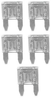 Audiopipe AST25A Ast Fuse 25 Amp 5 Pack Mini Blade; Blister Pack