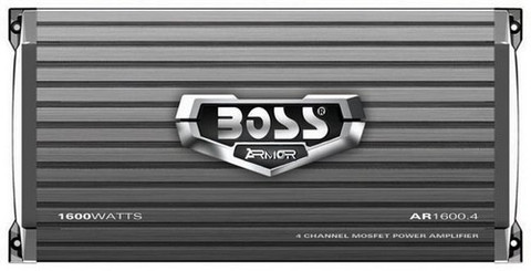 Boss Audio AR16004 Armor 4Ch Amplifier 1600W Max