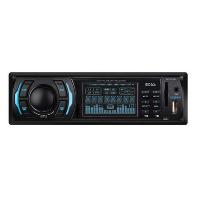 Boss Audio 612UA MP3 Receiver Am/Fm USB/SD Front Aux Input Remote