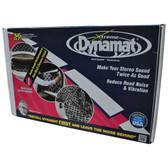 "Dynamat 10455 Xtreme 36 Sq Ft Bulk Pack; 9 Sheets 18""X32"""