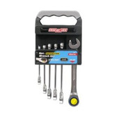 Channellock 38041 6 Pc Ratcheting Wrench Set Met