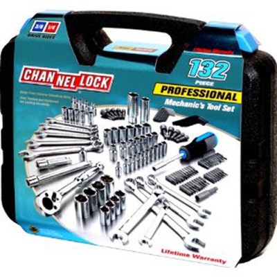 Channellock 39067 132 Pc Mechanics Tool Set