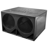 "Qpower QBOMB12TB Dual 12"" Woofer Box ""Q Bomb"" Turbo Ported"