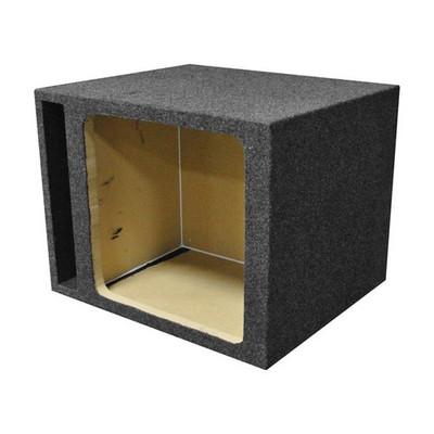 "Qpower QHD115VSQ Single Square 15"" Vented Woofer Box"