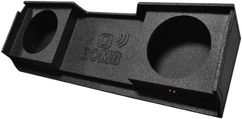 "Qpower QBGMC10DF Bomb GMC Dual 10"" Box"