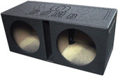 "Qpower QBOMB12V Dual 12"" Woofer Box ""Q Bomb"""