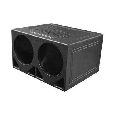 "Qpower QBOMB10TB Dual 10"" Turbo Ported Box"
