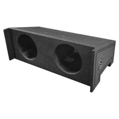 "Qpower QBJEEP10DF Bomb Dual 10"" Woofer Box For All Years Jeep Wrangler Cj5/Cj7"