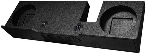"Qpower QBFORD102004 Bomb Ford Dual 10"" Woofer Box"