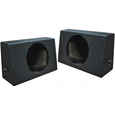 "Qpower QBTRUCK110S Qbomb Single 10"" Empty Woofer Box. Sold In Pairs"