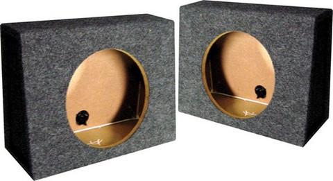 "Qpower QTW12S *Tw12* Empty Split Woofer Box Angle 12"";"