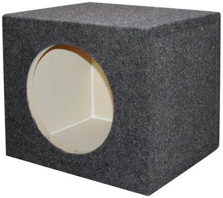 "Qpower QSMPSQ12E Empty Woofer Box 12"" Square"