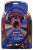 Qpower 8GAMPKITSFLEX 8 Gauge Amp Kit Super Flex