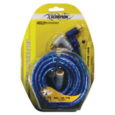 Xscorpion 18TR RCA Cable 18' Blue Triple Shielded W/Remote Wire