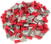 Xscorpion FD250R Quick Disconnect 18-22 Ga. 100 Pcs; Red; Female;