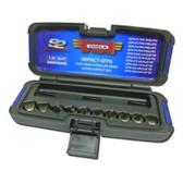 "Vim Products IMPACT-SFP6 10pc Half Cut Screwdriver Set- 3/8"" Sq. Drive"