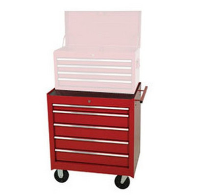 """ATD Tools 7075RD 5-Drawer Roller Cabinet, Red, 27"""""""