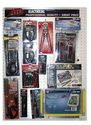 ATD Tools 20034-3 Electrical Tools Display Fixture & Product Drop Ship Order