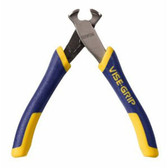 "Irwin Vise-Grip 2078904 4-1/4"" End Nipper Cutting Pliers, Spring Loaded"