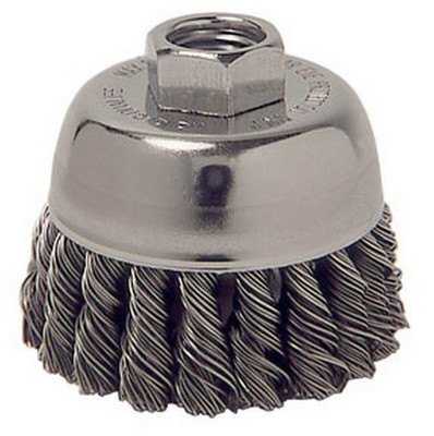 "ATD Tools 8233 2-3/4"" Knot-Style Cup Brush"