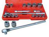 "ATD Tools 10027 8"" Chrome Extension - 3/4"" Drive"